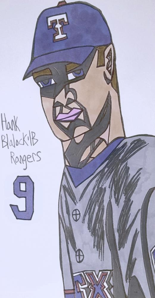 Hank Blalock par armattock